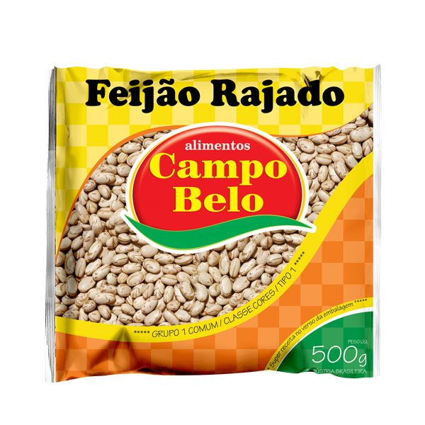 Feijão Rajado Campo Belo